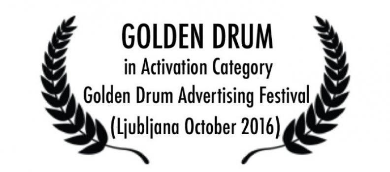 Aur pentru Green Endorsement la festivalul Golden Drum