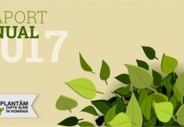 Plantăm fapte bune în România a împădurit 27 de hectare cu peste 88.000 de puieți în 2017