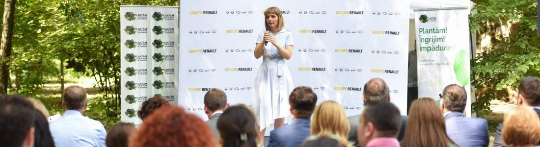Fundaţia Groupe Renault România la debut :  acţiuni de împădurire cu impact naţional