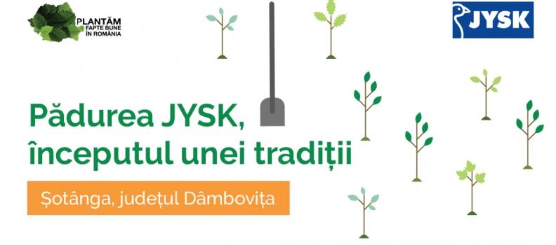 Pădurea JYSK – începutul unei tradiții